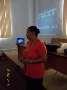 La Presidenta María Aurora Soto presenta el balance