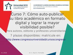Curso 7 en Universidad 2018